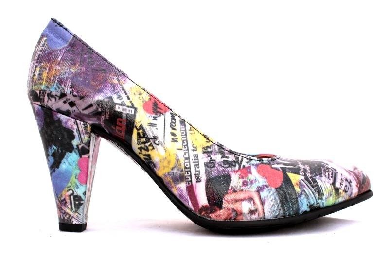 schoenen met print dames