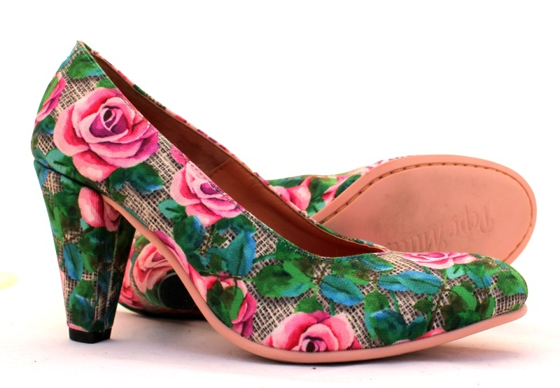 Pump Bed Pumps Roses nl Shoelia Of zVGqSUMp