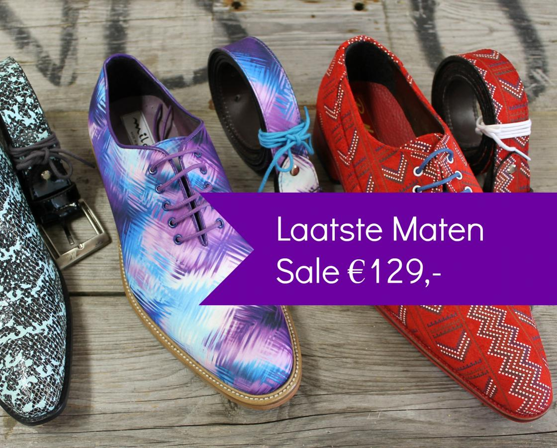 Shoelia Pepe Milan sale laatste maten en sample paren herenschoenen sale