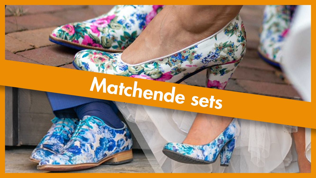 Shoelia matchende heren en damesschoenen